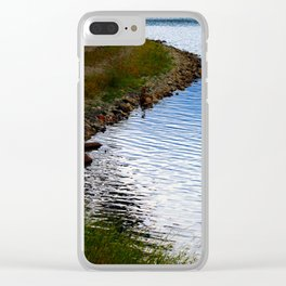 Water's Edge at Walden Pond Clear iPhone Case
