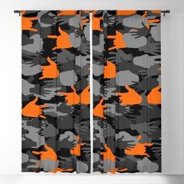 Handy Camo ORANGE Blackout Curtain