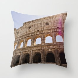 When In Rome I Throw Pillow