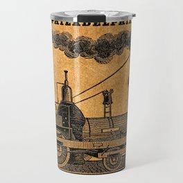 Advertisement for the Philadelphia workshops of William Norris Travel Mug