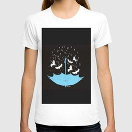 Umbrella Birds T-shirt