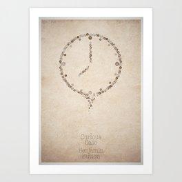 The Curious Case of Benjamin Button - minimal poster Art Print