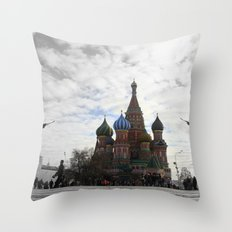 St. Basil's Cathedreal Throw Pillow