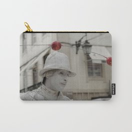 Artist white red Carry-All Pouch