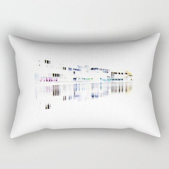 white harbor I. Rectangular Pillow