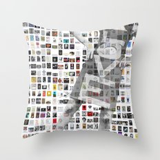 LOVE Mosaic Throw Pillow