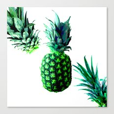 Malibu Pineapple   Anana Exotic Canvas Print
