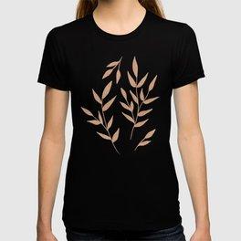 Foliage on Taupe T-shirt