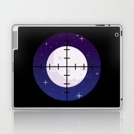 Aim for the Moon Laptop & iPad Skin