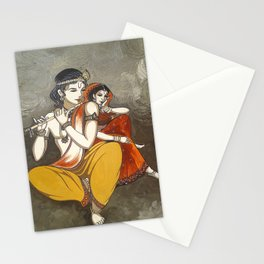 Radha Krishna Stationery Cards