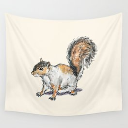 Ready, Set, Squirrel! Wall Tapestry