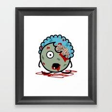 Baby Zombie Framed Art Print