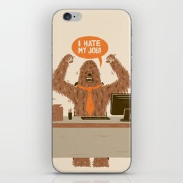 I Hate My Job iPhone Skin