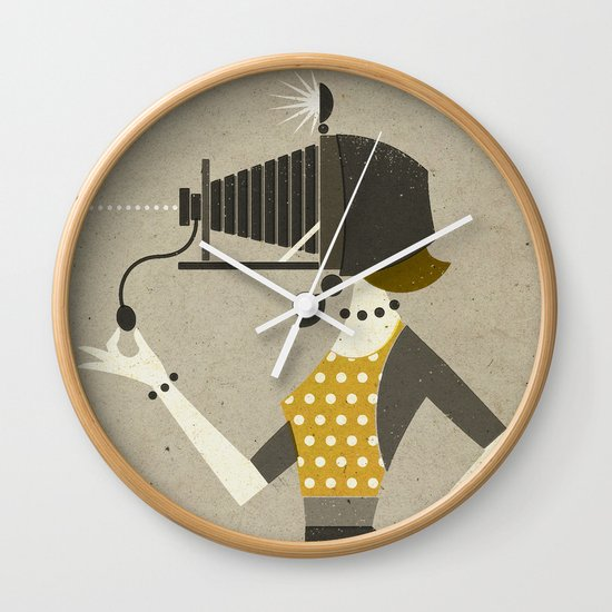 Photographic Memory Wall Clock