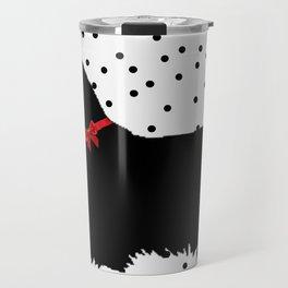 Christmas Scottie Dog Travel Mug