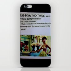 Tuesday iPhone & iPod Skin