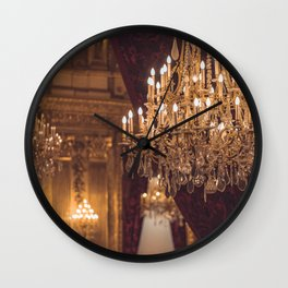 Luxury Chandelier Wall Clock