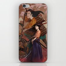 The Spirit of Tomoe Gozen iPhone & iPod Skin