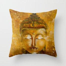Buddha Art Throw Pillow