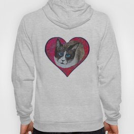 Rastus the Snowshoe cat Hoody