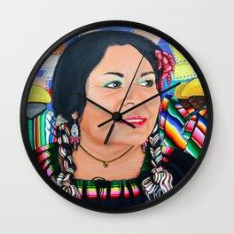 Mexican Fiesta Wall Clock