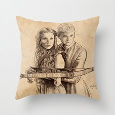 The Crossbow Throw Pillow
