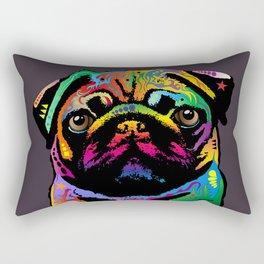 Pug Dog Rectangular Pillow