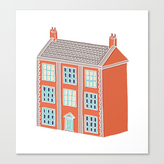 Little Big House Canvas Print