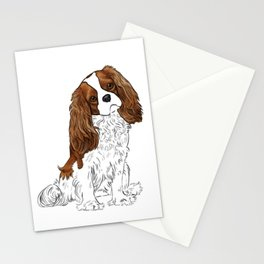 Cavalier King Charles Spaniel Blenheim Stationery Cards
