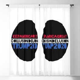 COLLUSION DELUSION Blackout Curtain