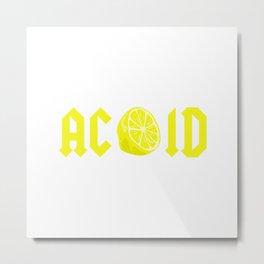 CITRIC ACID Metal Print