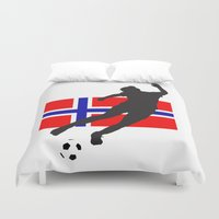 norway Duvet Covers featuring Norway - WWC by Alrkeaton