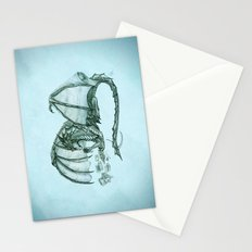 Material Girl ~ Sea Mist ~ Dragon Stationery Cards