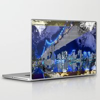 brooklyn bridge Laptop & iPad Skins featuring Brooklyn Bridge by Robin Curtiss