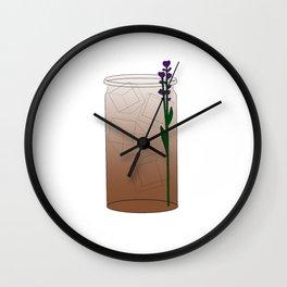 London Fog Tea Latte Wall Clock