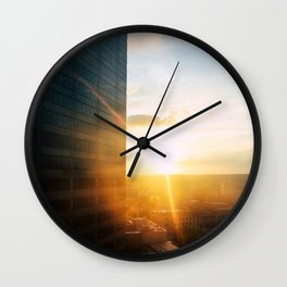Downtown Philly Wall Clock