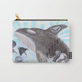 Killer Whale Ishmael Carry-All Pouch