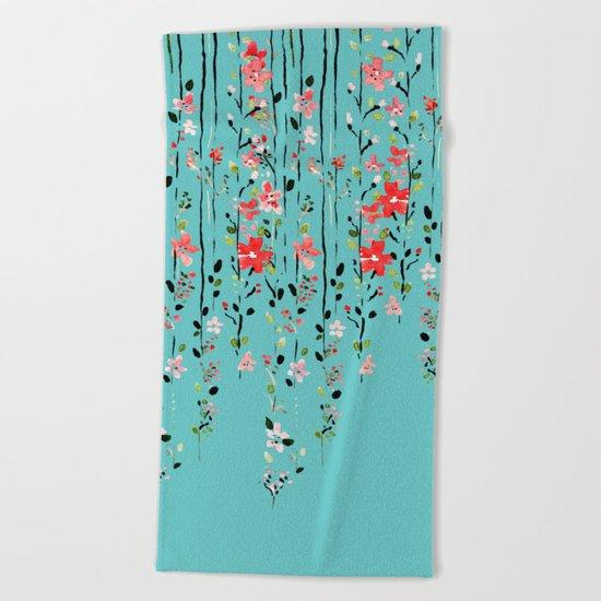 Floral Dilemma #society6 #decor #buyart Beach Towel