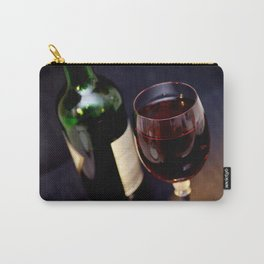 Red  Wine and Wine Glass Photograph Carry-All Pouch