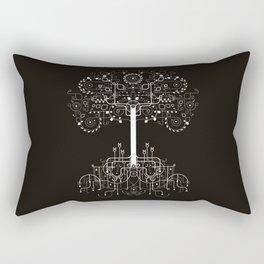 The White Tree Rectangular Pillow