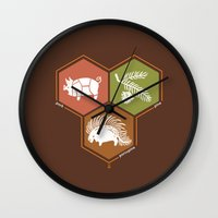 math Wall Clocks featuring simple math by 7115