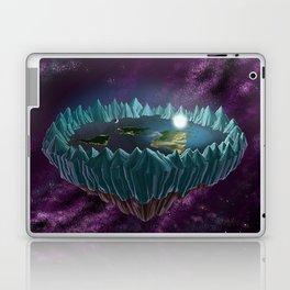 The Flat Earth Laptop & iPad Skin