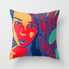 Sleeping Forest14 Throw Pillow