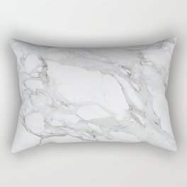 Calacatta Marble Rectangular Pillow
