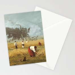 1920 - advanced harvest Stationery Cards