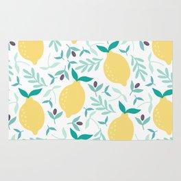 Lemon & Blueberry Pastel Rug