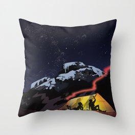 Tent Stories Throw Pillow