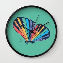 Musical Butterfly (Musical Rainbow) Wall Clock