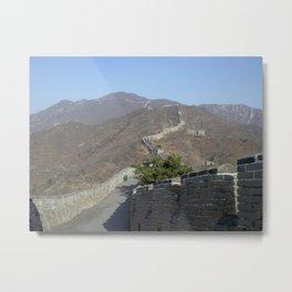 The Great Wall of China I Metal Print