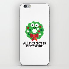 Ho Ho Hopeless iPhone & iPod Skin
